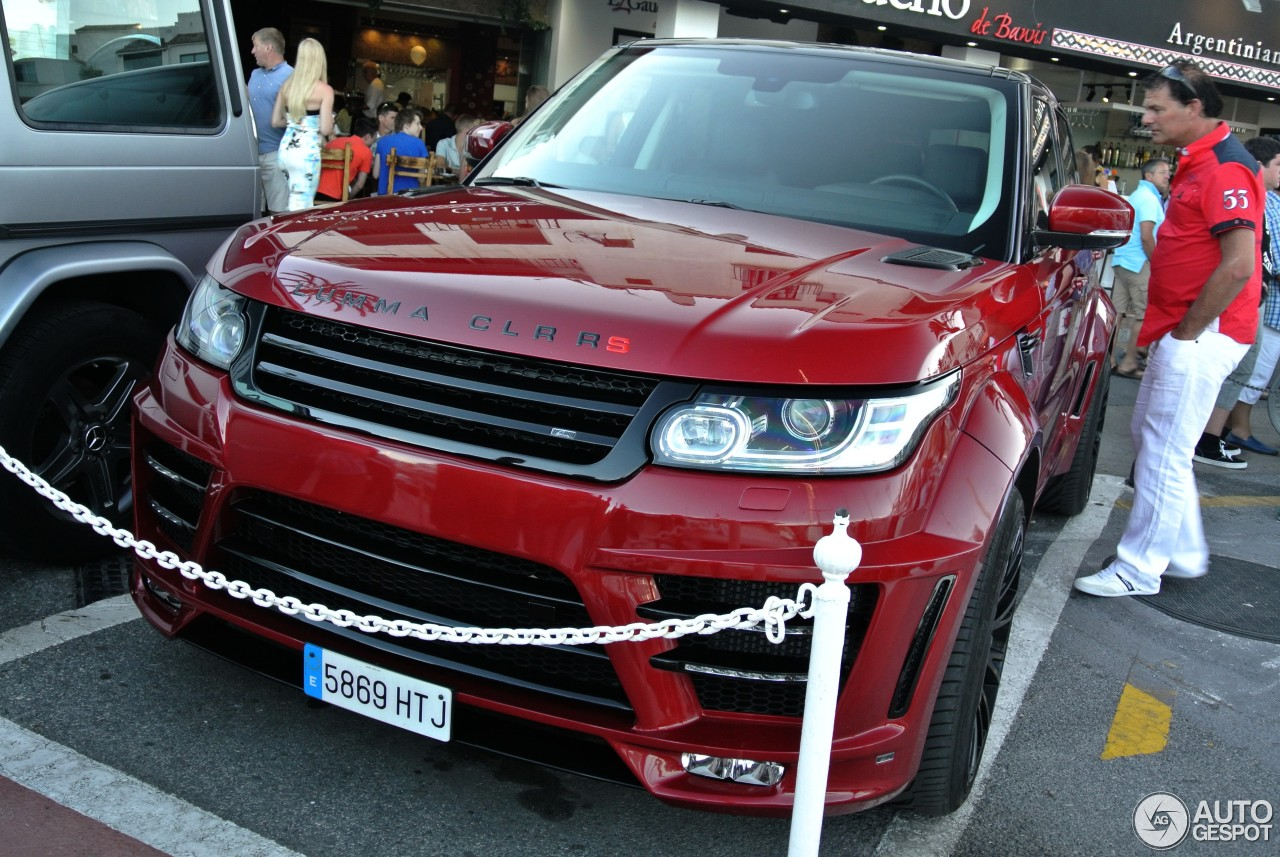 Land Rover Range Rover Sport Lumma Clr Rs 14 September