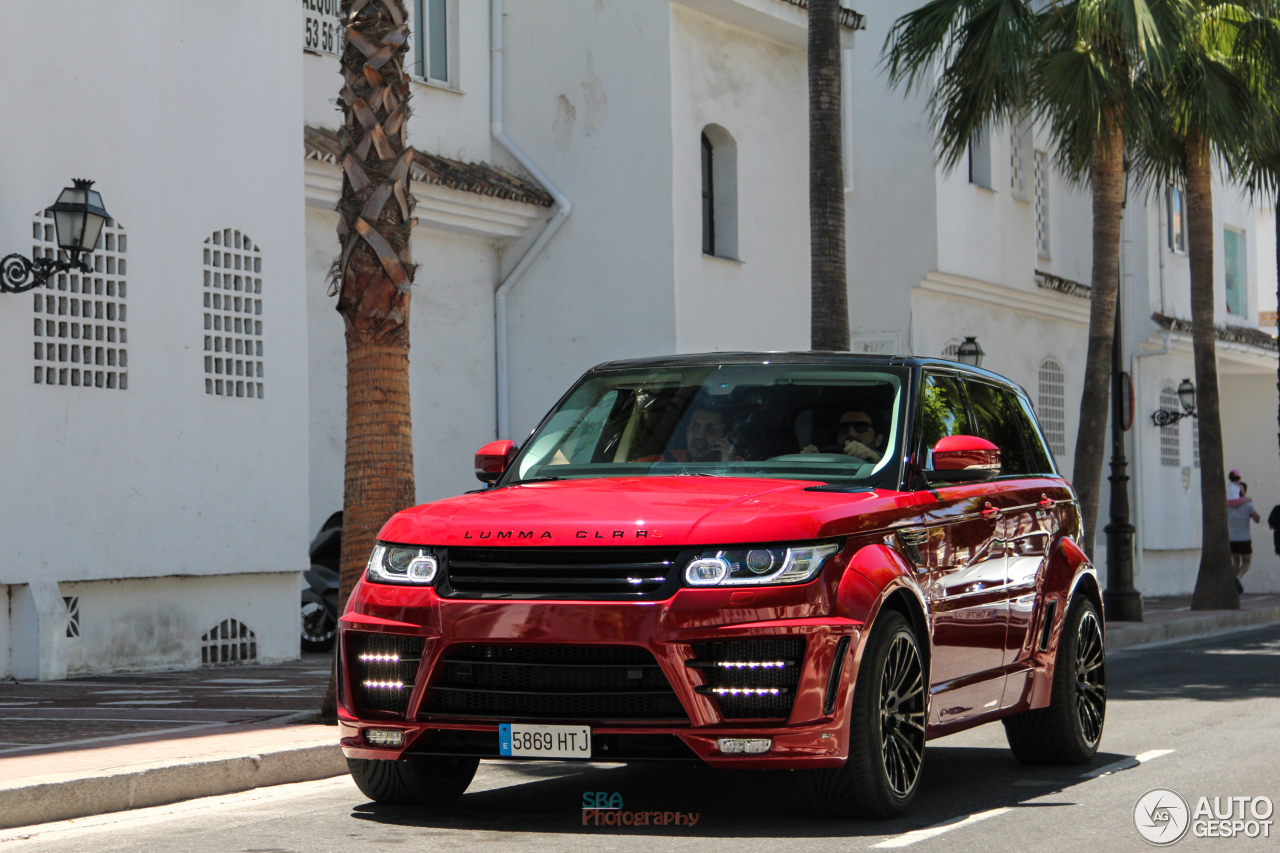 Land Rover Range Rover Sport Lumma Clr Rs 15 September