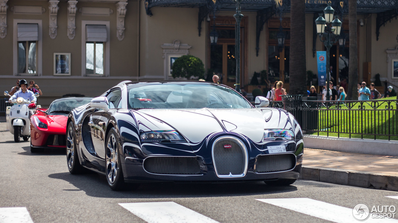 bugatti veyron 16 4 grand sport l 39 or blanc 16 september 2014 autogespot. Black Bedroom Furniture Sets. Home Design Ideas