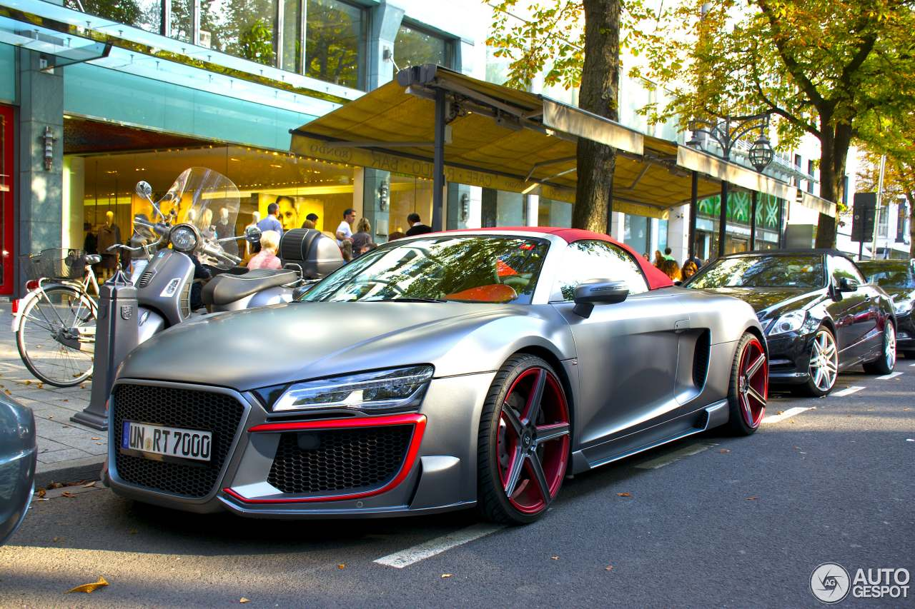 audi r8 v10 spyder 2013 regula tuning 17 september 2014. Black Bedroom Furniture Sets. Home Design Ideas