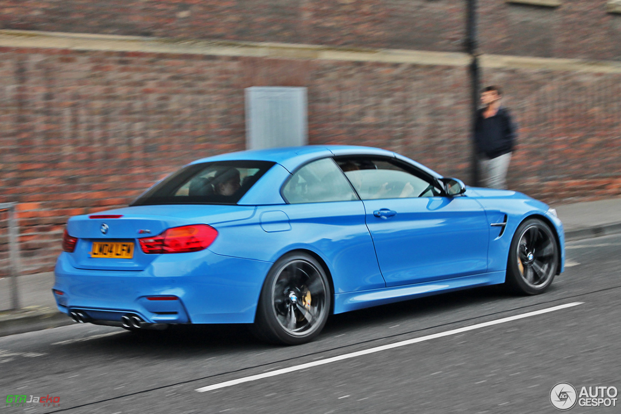blue convertible bmw m4 - photo #36