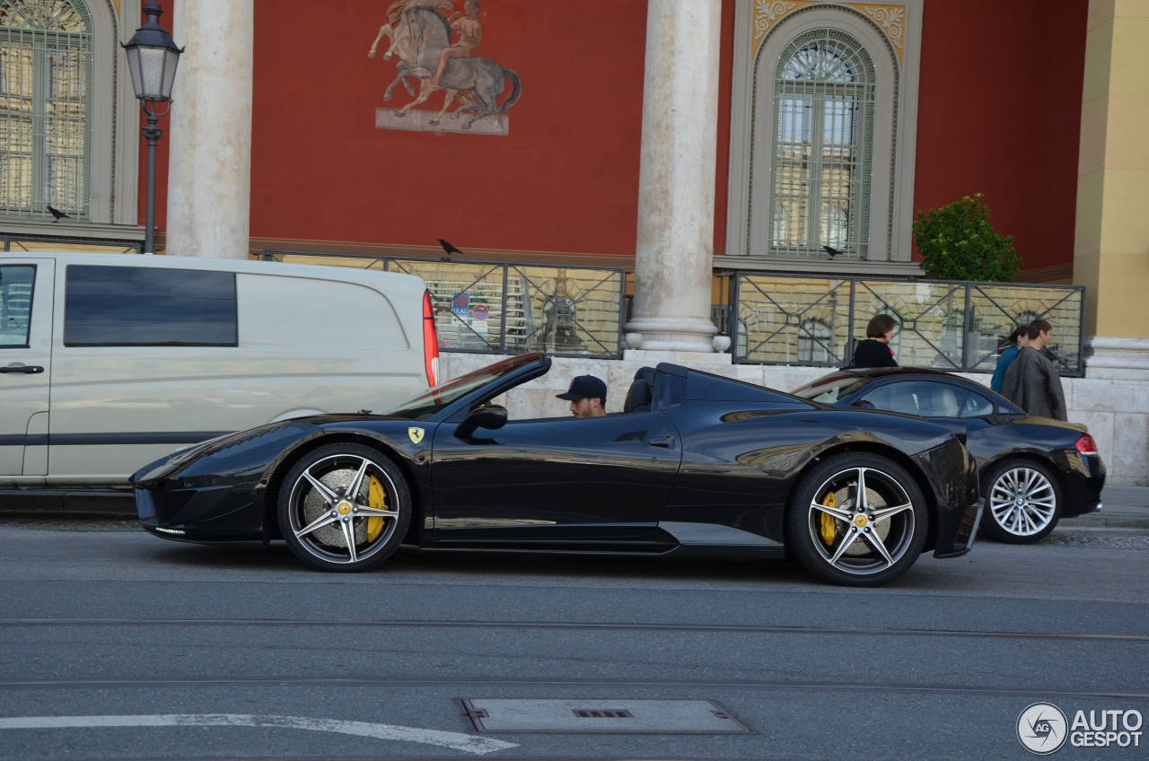 ferrari 458 spider mansory siracusa 18 septembre 2014. Black Bedroom Furniture Sets. Home Design Ideas