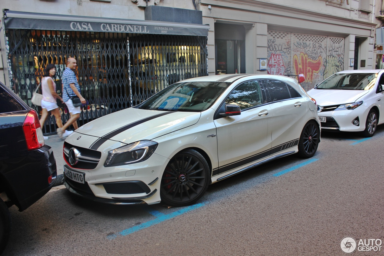 Mercedes benz a 45 amg edition 1 21 septiembre 2014 for Mercedes benz a 45