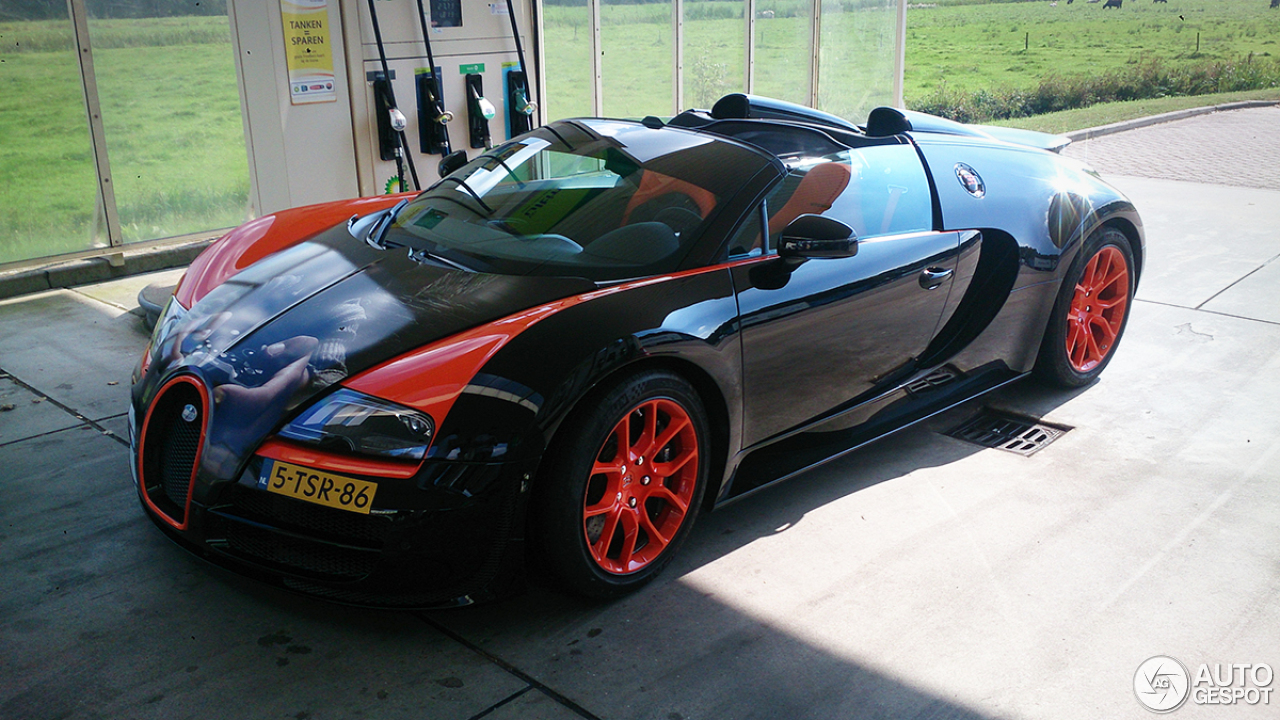 bugatti veyron 16 4 grand sport vitesse world record car edition 23 september 2014 autogespot. Black Bedroom Furniture Sets. Home Design Ideas