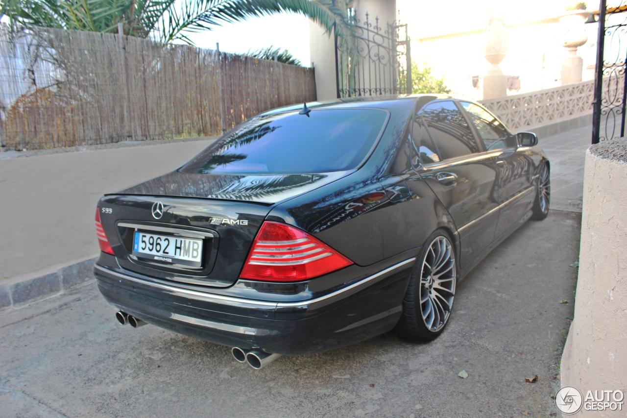 Mercedes benz s 55 amg w220 kompressor 23 september 2014 for Mercedes benz s 55