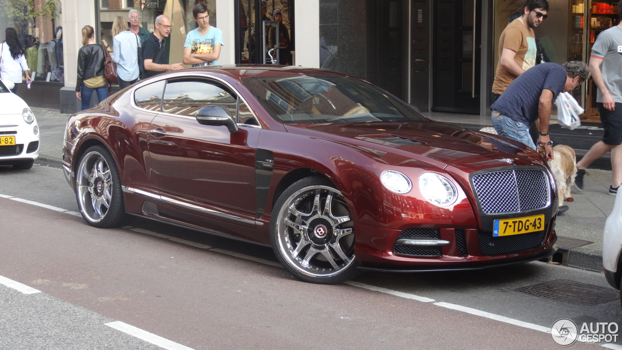 Bentley Mansory Continental Gt 2012 25 September 2014
