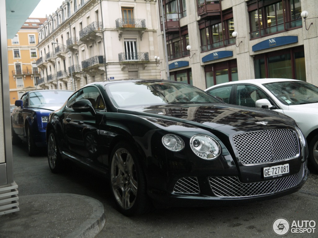 bentley continental gt 2012 27 september 2014 autogespot. Black Bedroom Furniture Sets. Home Design Ideas