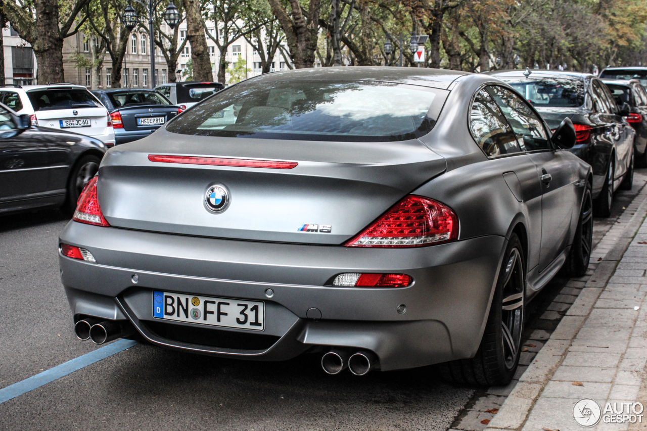 Bmw M6 Competition Limited Edition 27 September 2014