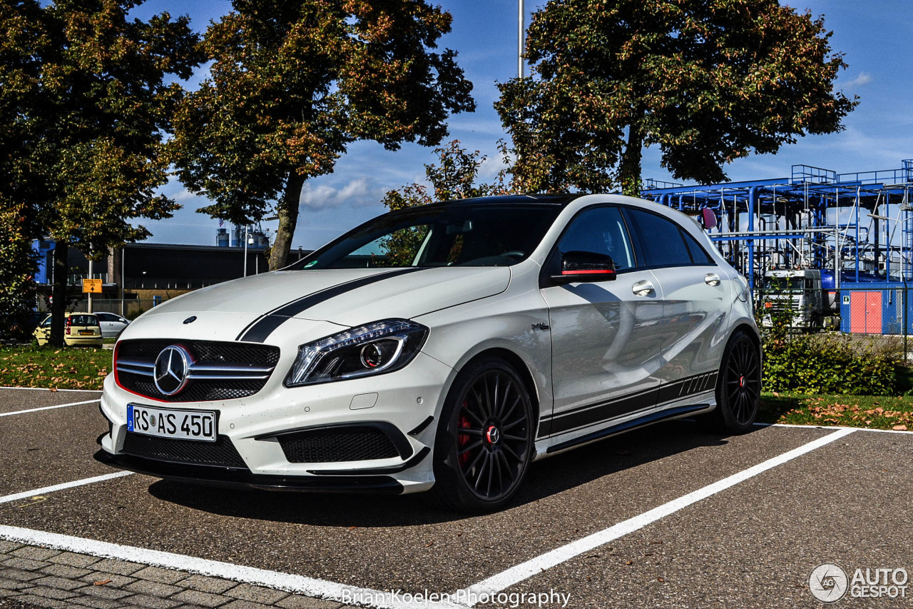 mercedes benz a 45 amg edition 1 27 septembre 2014 autogespot. Black Bedroom Furniture Sets. Home Design Ideas