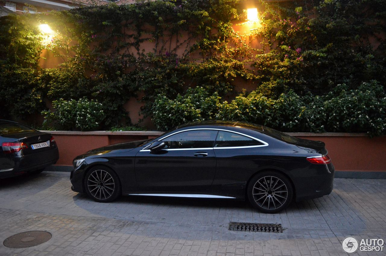 Mercedes benz s 63 amg coup c217 28 september 2014 for Mercedes benz s coupe 2014