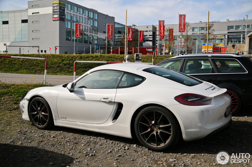 porsche 981 cayman gts 28 september 2014 autogespot. Black Bedroom Furniture Sets. Home Design Ideas