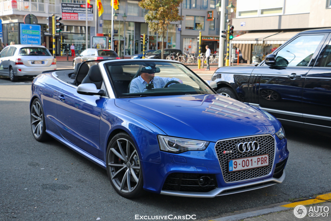 audi rs5 cabriolet b8 29 september 2014 autogespot. Black Bedroom Furniture Sets. Home Design Ideas