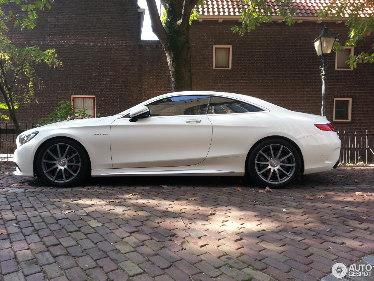 Mercedes benz s 63 amg coup c217 3 oktober 2014 for Mercedes benz s coupe 2014