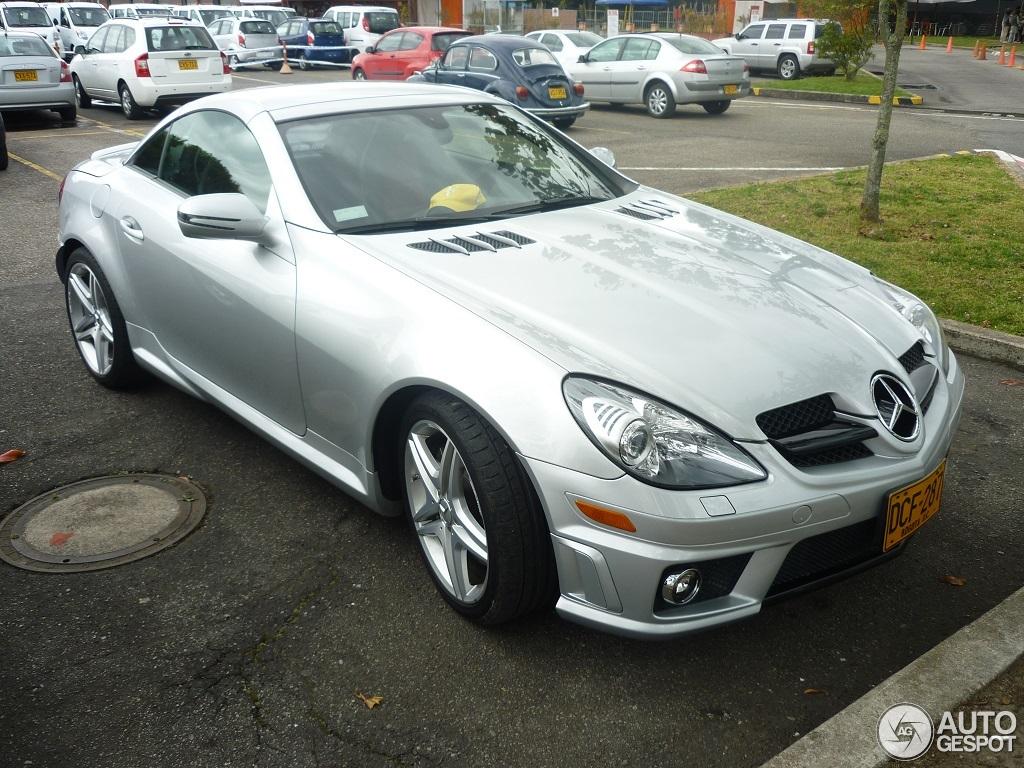 Mercedes benz slk 55 amg r171 2007 7 october 2014 for 2007 mercedes benz slk