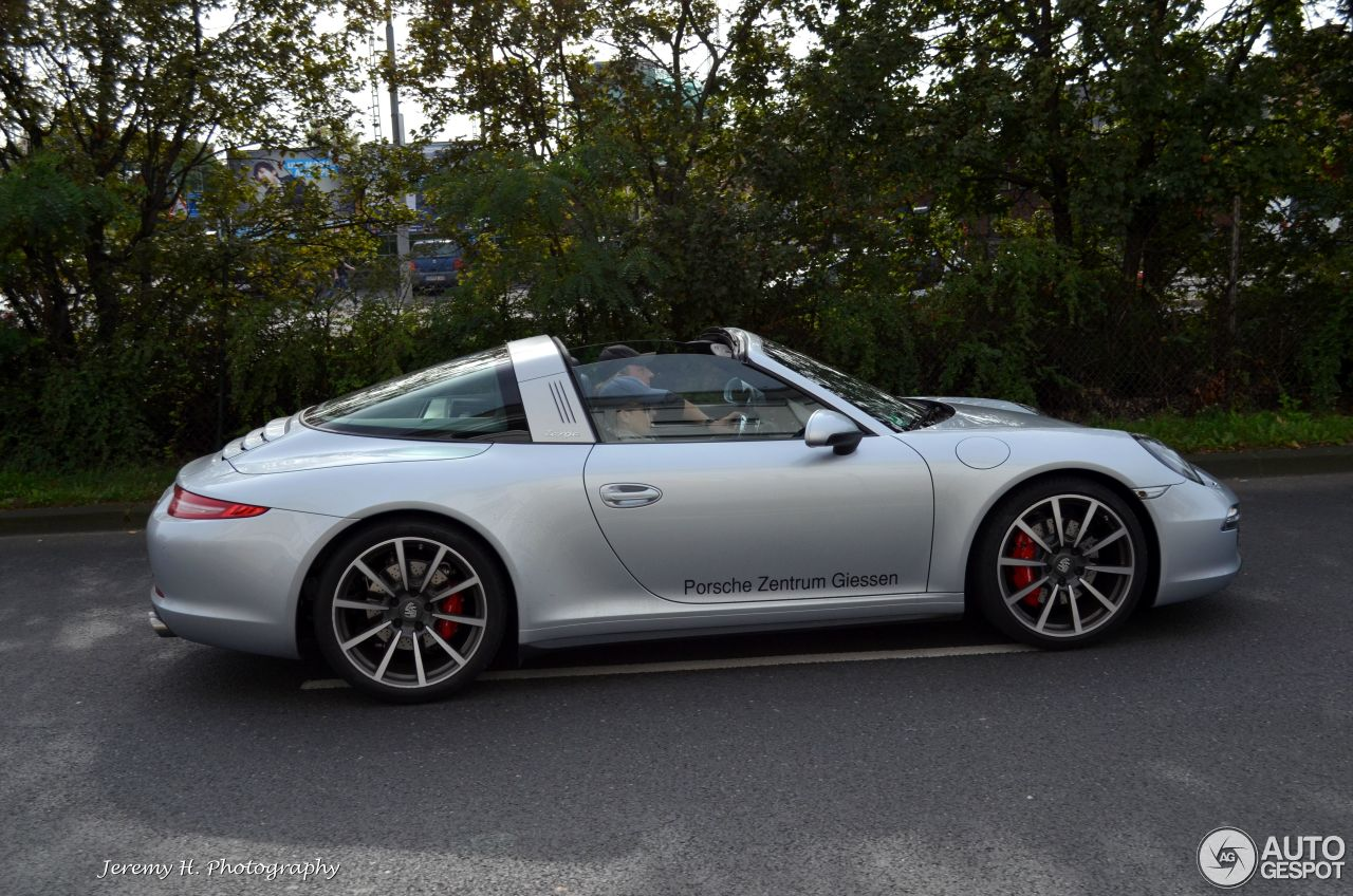 Porsche 991 Targa 4s 9 October 2014 Autogespot
