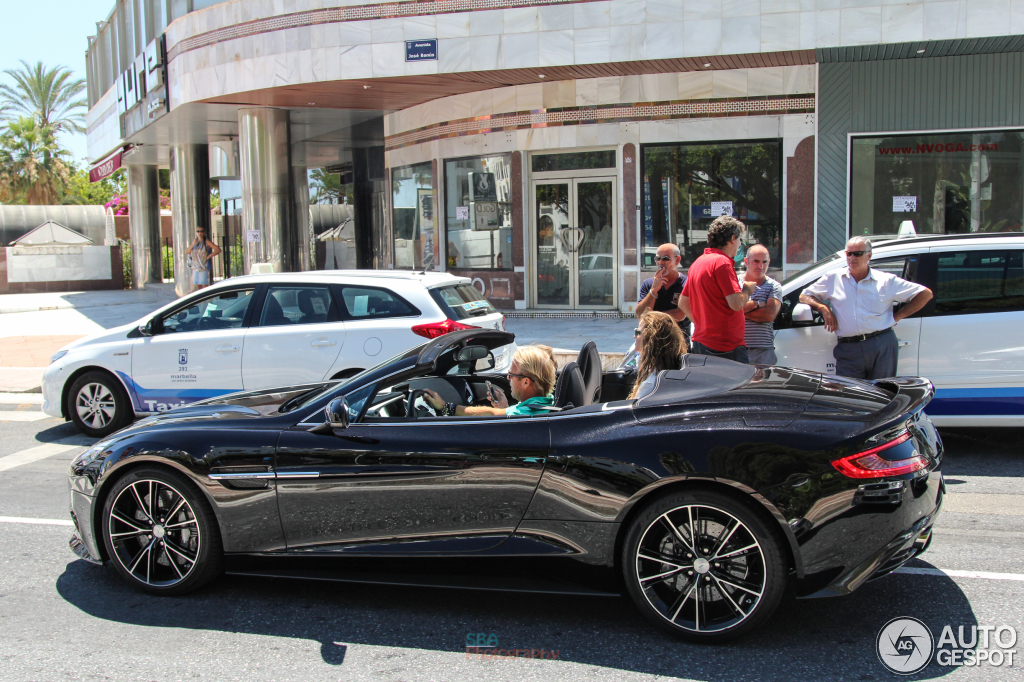 Aston Martin Vanquish Volante 10 Octobre 2014 Autogespot