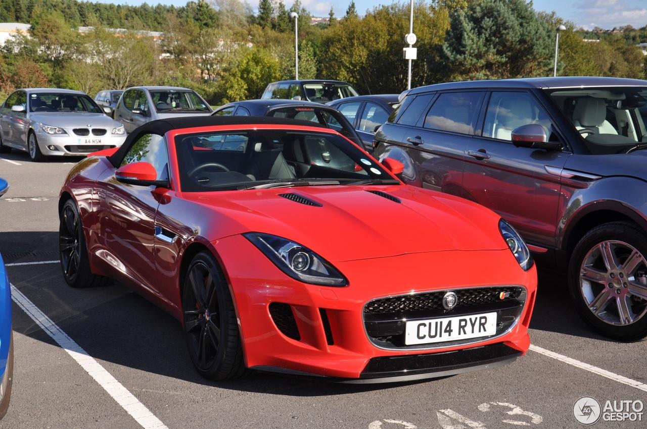 Jaguar F Type S Convertible 10 October 2014 Autogespot