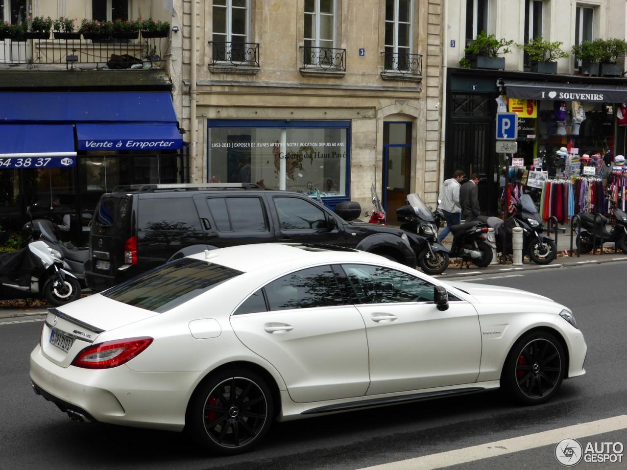 Mercedes benz cls 63 amg s c218 2015 11 oktober 2014 for 2014 mercedes benz cls550 0 60