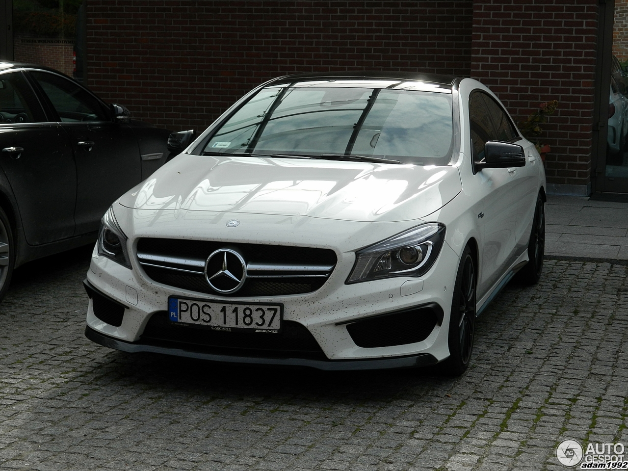 Mercedes benz cla 45 amg c117 14 pa dziernik 2014 for 2014 mercedes benz cla 45