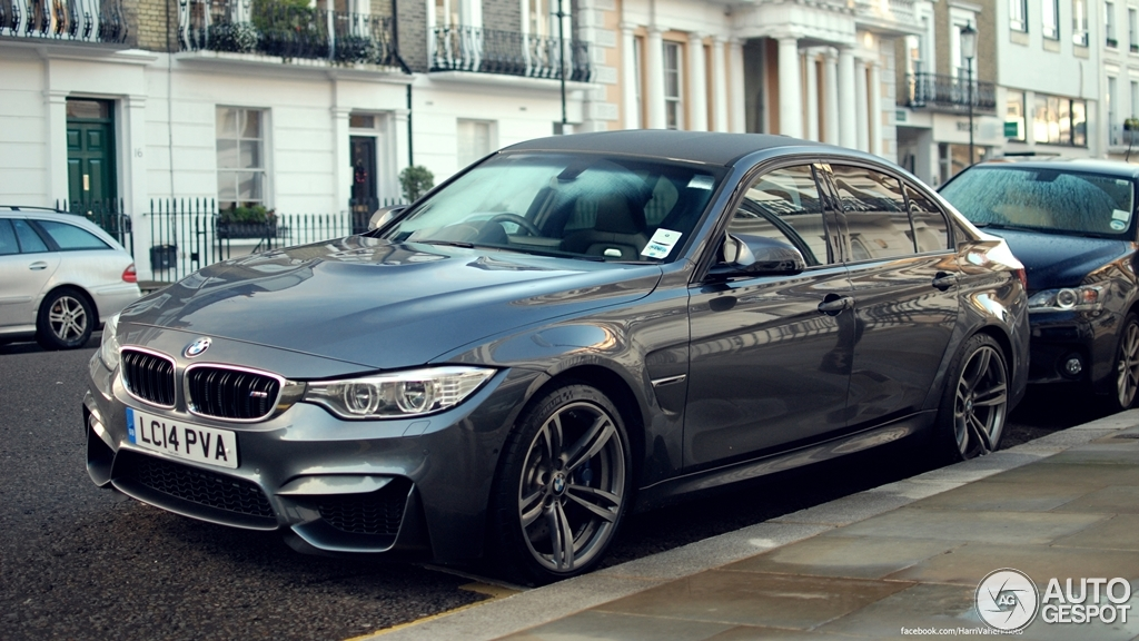 bmw m3 f80 sedan 2014 15 october 2014 autogespot. Black Bedroom Furniture Sets. Home Design Ideas