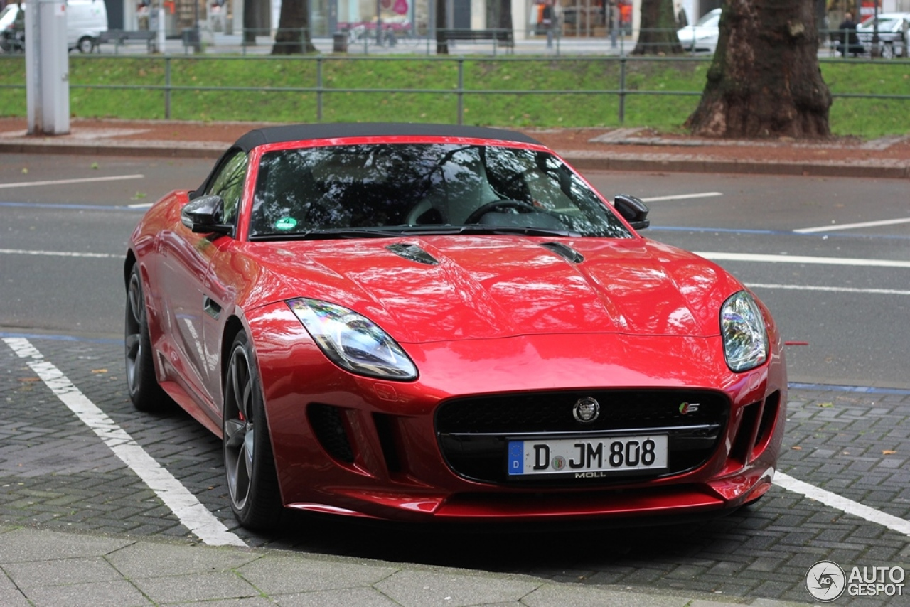 Jaguar F Type S V8 Convertible 15 October 2014 Autogespot