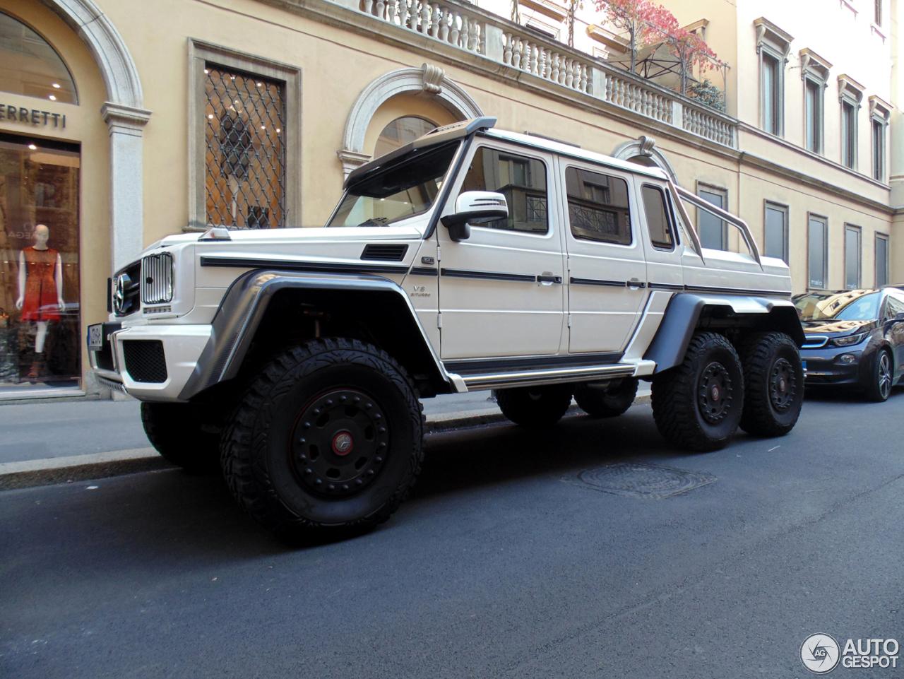 Mercedes benz g 63 amg 6x6 18 october 2014 autogespot for Mercedes benz g 63 amg 6x6