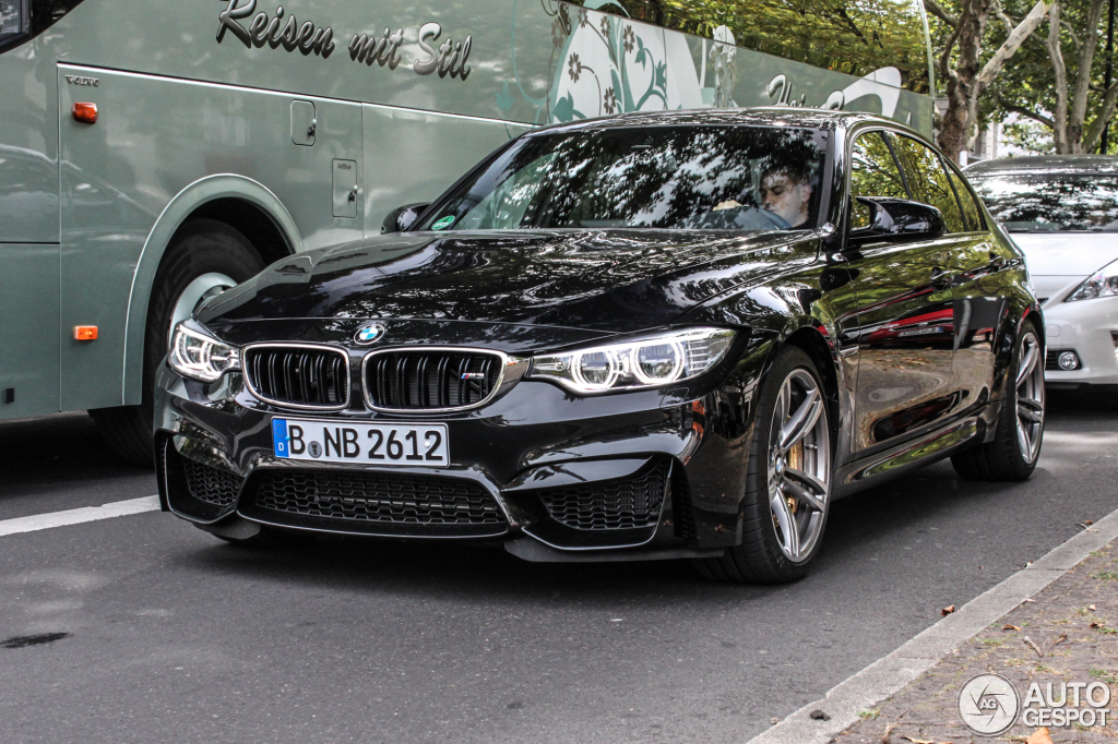 bmw m3 f80 sedan 2014 21 october 2014 autogespot. Black Bedroom Furniture Sets. Home Design Ideas