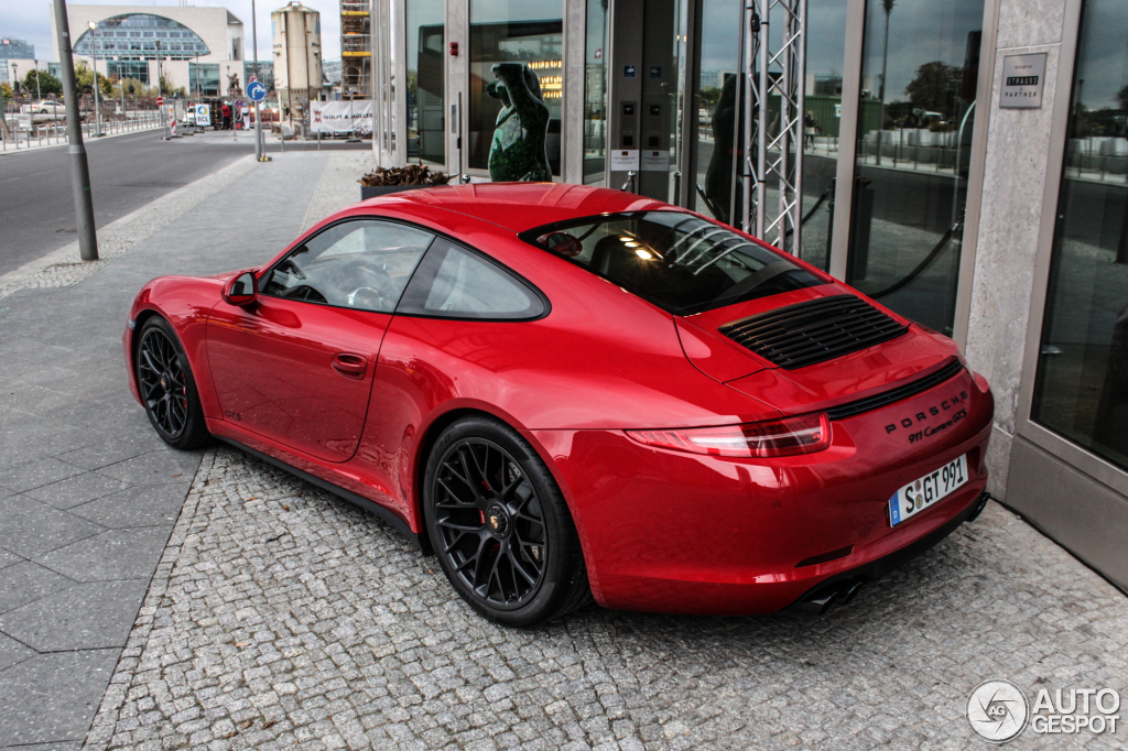 porsche 991 carrera gts 21 oktober 2014 autogespot. Black Bedroom Furniture Sets. Home Design Ideas