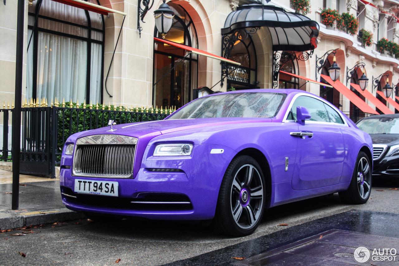 Rolls-Royce Wraith 3