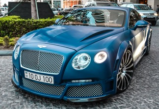 Bentley Continental GT Speed 2012 GTX Edition by ONYX