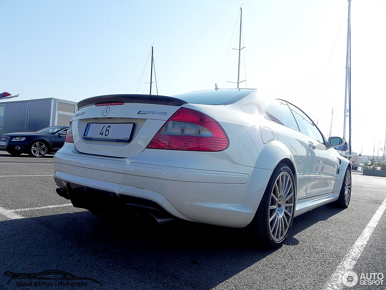 Mercedes benz clk 63 amg black series 22 october 2014 for Mercedes benz clk 63