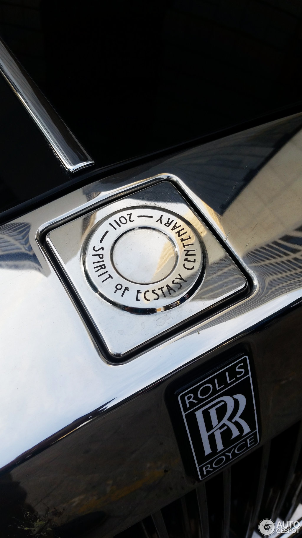 Rolls Royce Phantom Spirit Of Ecstasy Centenary Edition