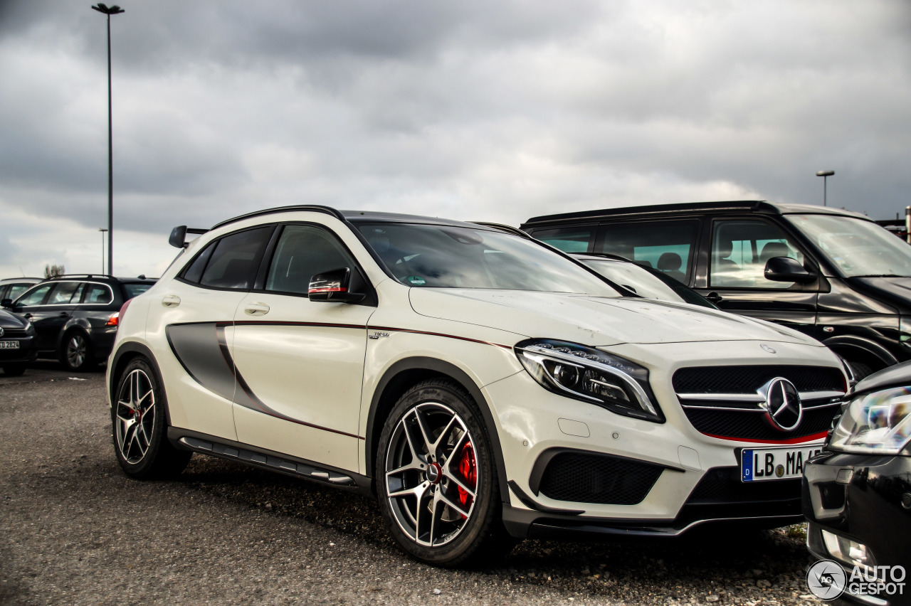 Mercedes benz gla 45 amg edition 1 25 october 2014 for Mercedes benz gla 45 amg