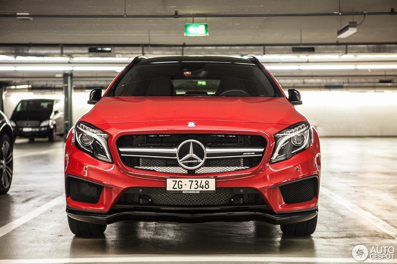 mercedes benz gla 45 amg x156 25 october 2014 autogespot. Black Bedroom Furniture Sets. Home Design Ideas