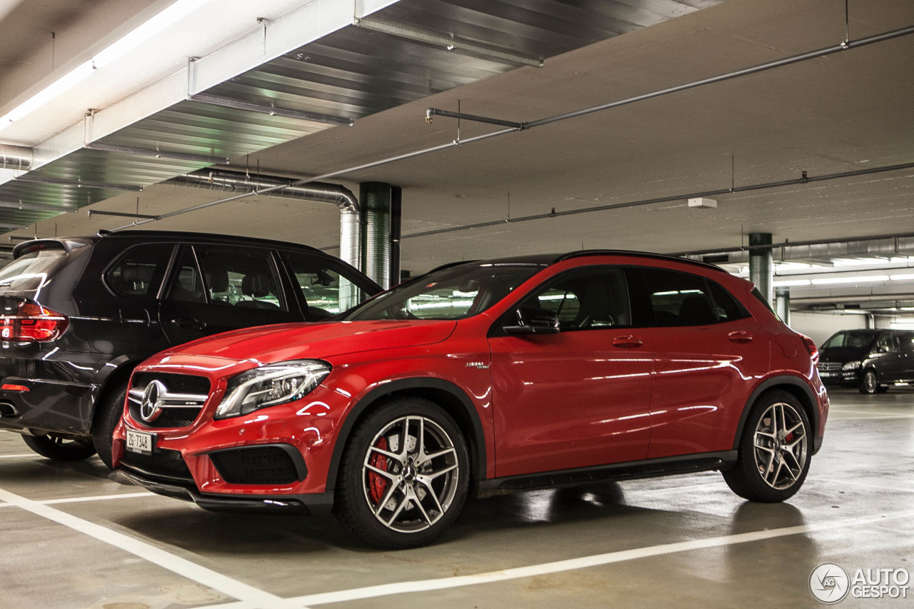 Mercedes Benz Gla 45 Amg X156 25 October 2014 Autogespot