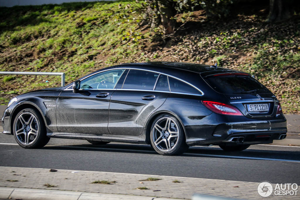 mercedes benz cls 63 amg x218 shooting brake 2015 26 october 2014 autogespot. Black Bedroom Furniture Sets. Home Design Ideas
