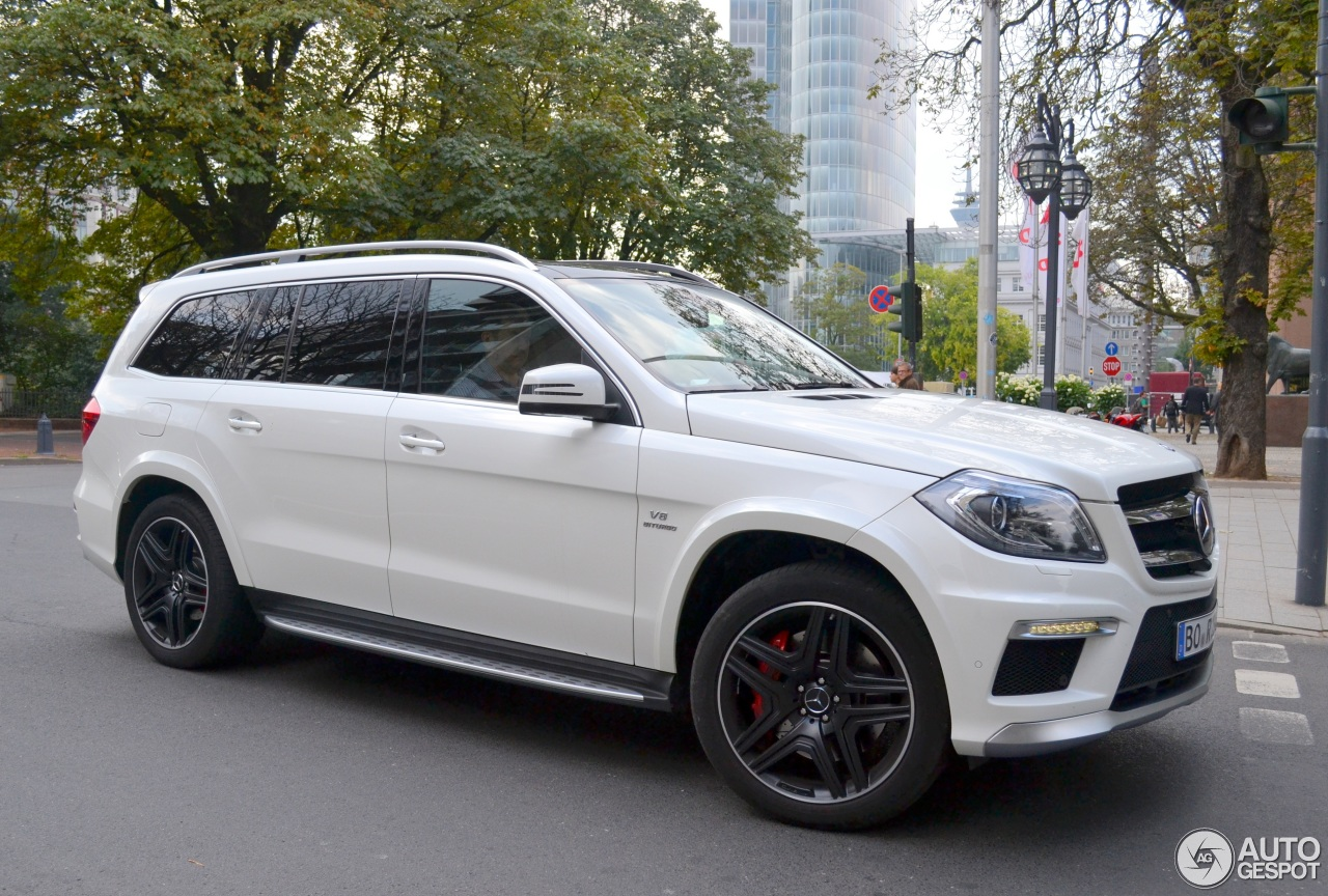 Mercedes Benz Gl 63 Amg X166 26 October 2014 Autogespot