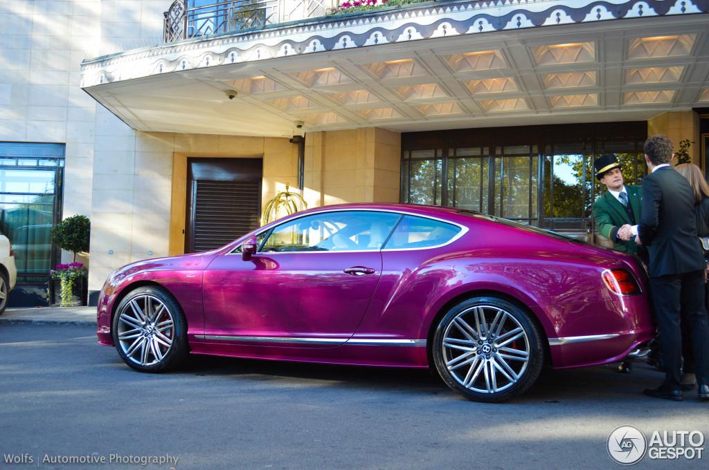 Bentley Continental Gt Speed 2015 27 October 2014