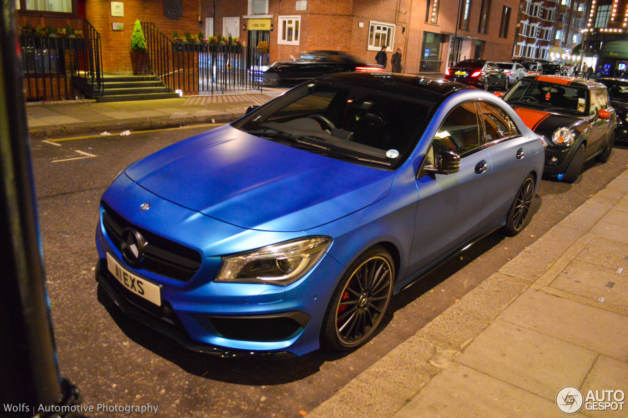 Mercedes Benz Cla 45 Amg C117 27 October 2014 Autogespot