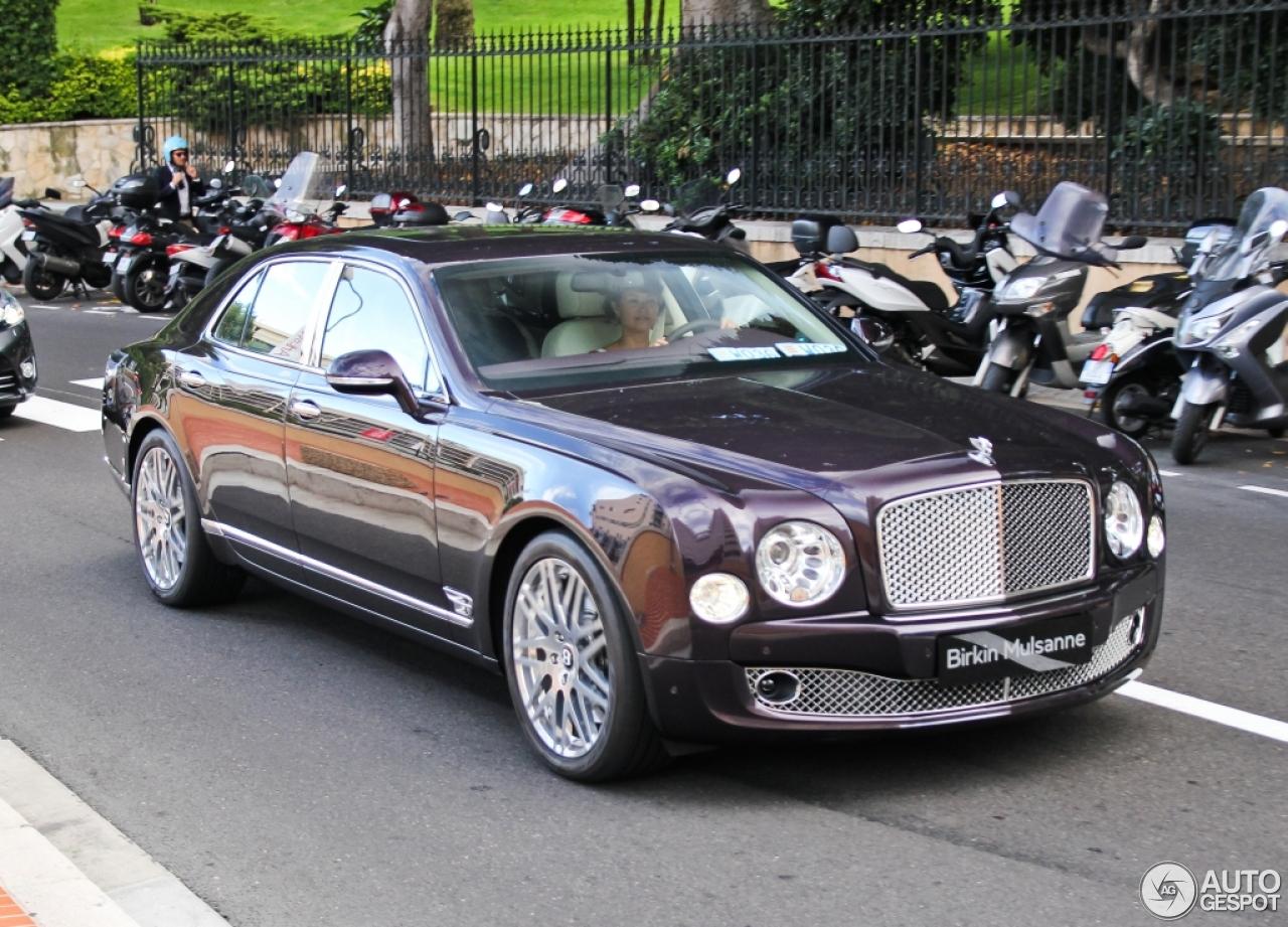 Bentley Mulsanne 2009 Birkin Limited Edition 28 October