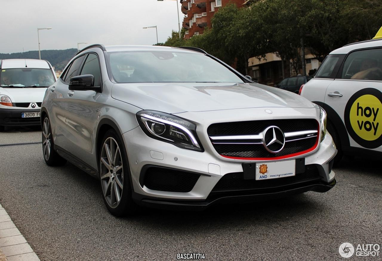 Mercedes benz gla 45 amg x156 28 october 2014 autogespot for Mercedes benz gla 45 amg price