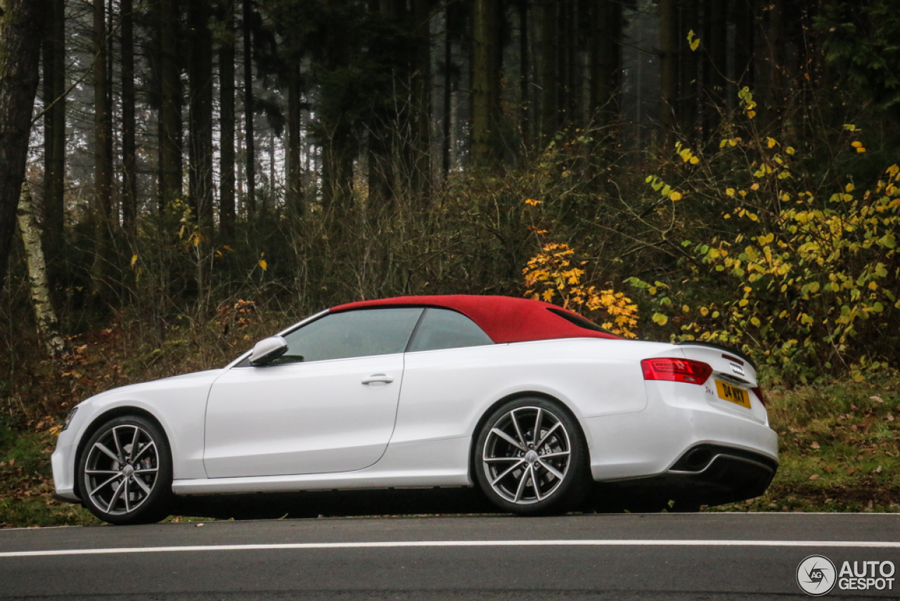 audi rs5 cabriolet b8 2 november 2014 autogespot. Black Bedroom Furniture Sets. Home Design Ideas
