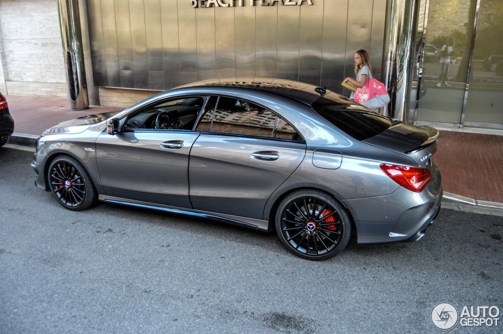 Mercedes Benz Cla 45 Amg Edition 1 C117 4 November 2014