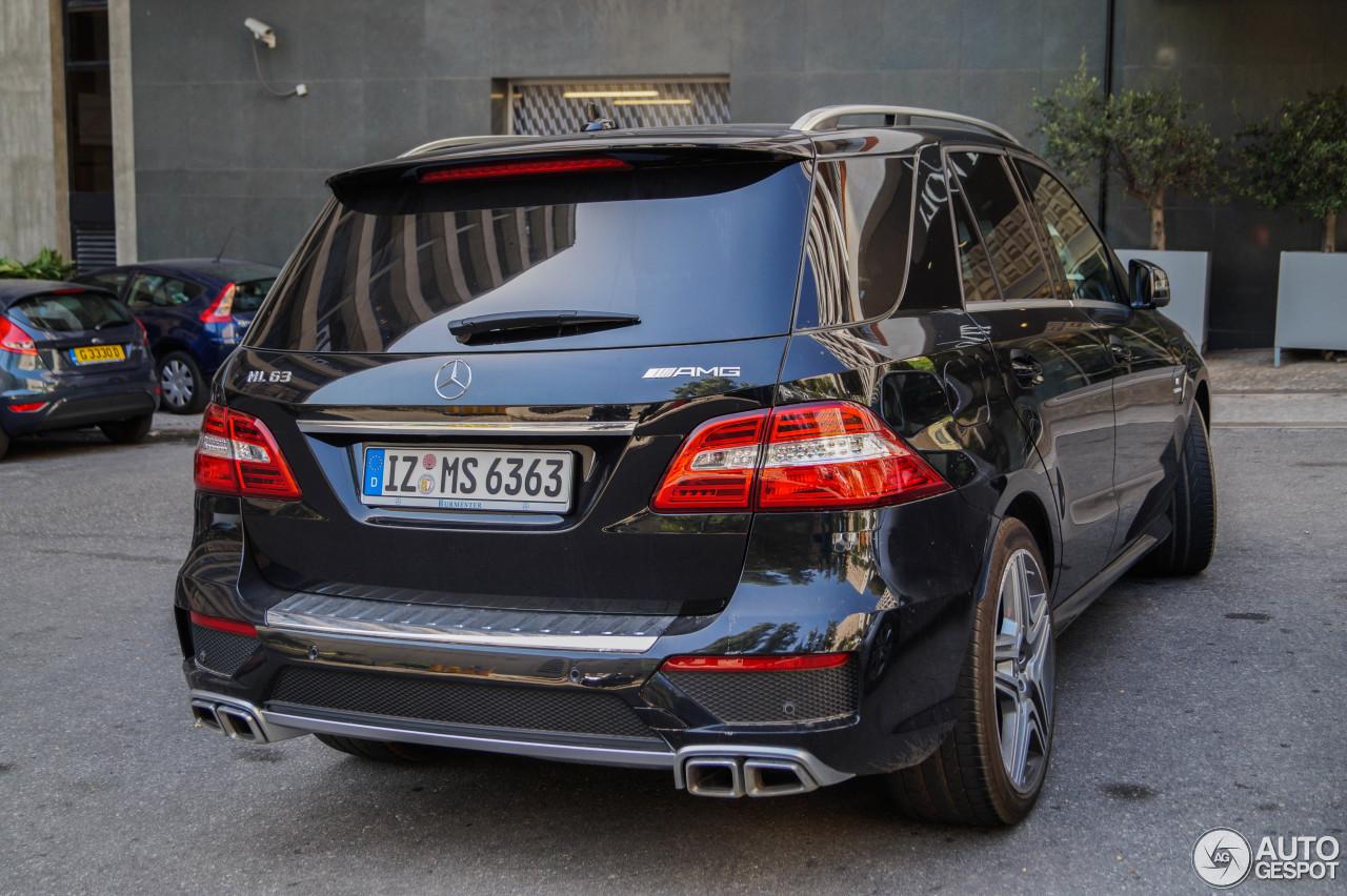 Mercedes benz ml 63 amg w166 5 november 2014 autogespot for Mercedes benz ml 2014