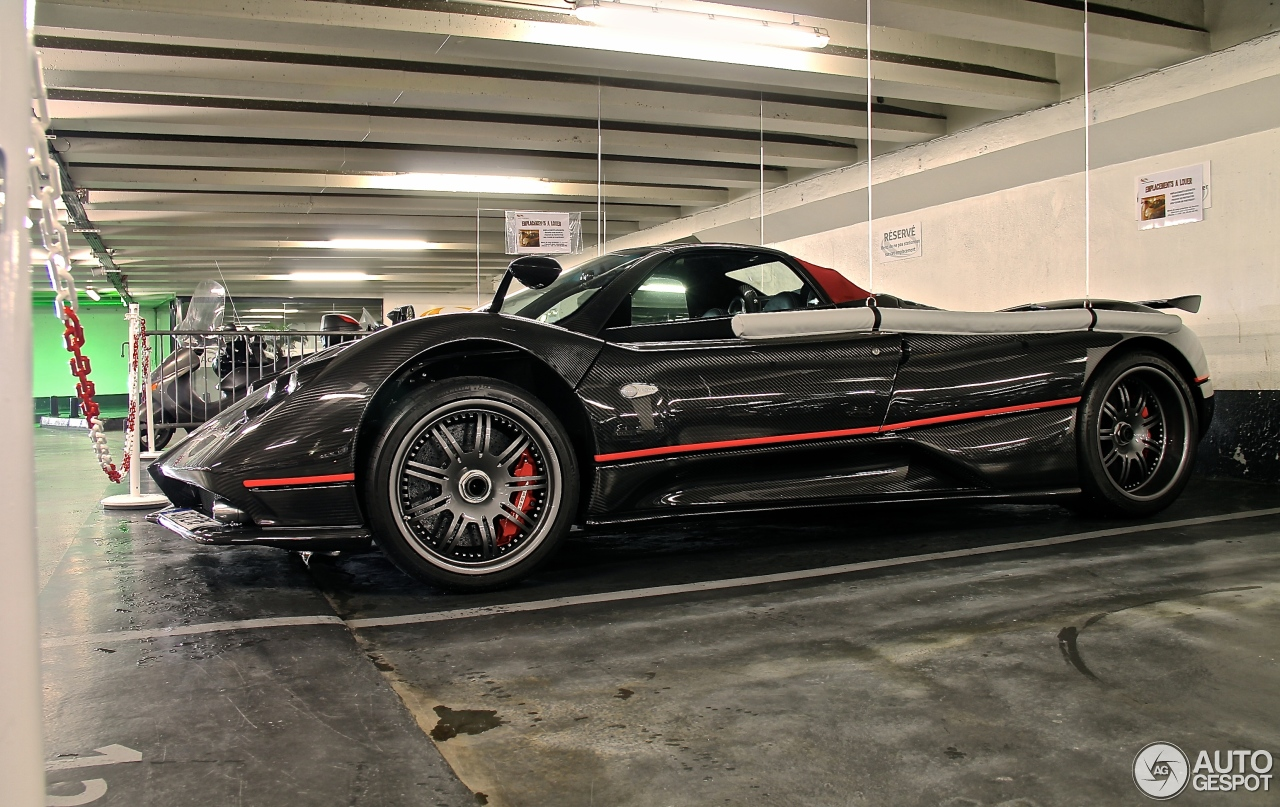 pagani zonda c12 f roadster 6 novembre 2014 autogespot. Black Bedroom Furniture Sets. Home Design Ideas