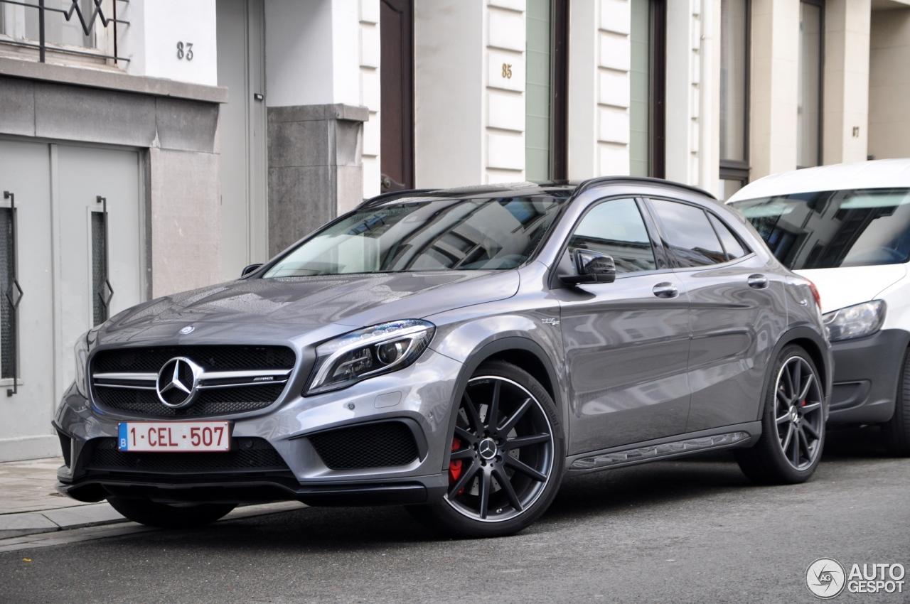 Mercedes benz gla 45 amg x156 7 november 2014 autogespot for Mercedes benz gla 45 amg price