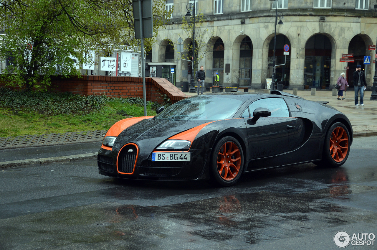 bugatti veyron 16 4 grand sport vitesse world record car edition 9 november 2014 autogespot. Black Bedroom Furniture Sets. Home Design Ideas