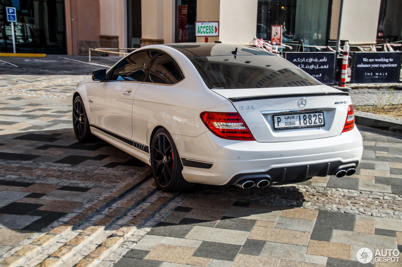 Mercedes benz c 63 amg coup edition 507 10 november for 2014 mercedes benz c63 amg edition 507 for sale