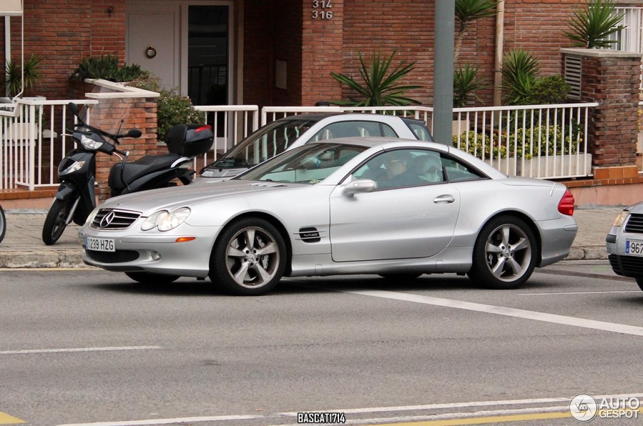 Mercedes benz sl 600 r230 14 november 2014 autogespot for Mercedes benz c 600