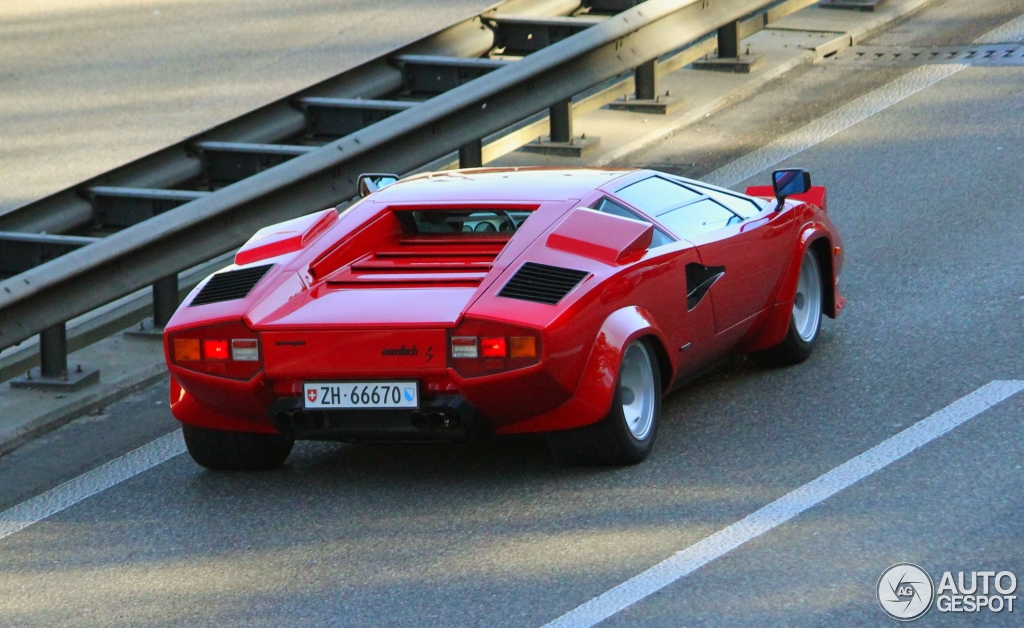 lamborghini countach 5000 s 15 novembre 2014 autogespot. Black Bedroom Furniture Sets. Home Design Ideas